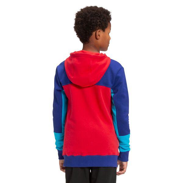 Boys' Street Logo Pullover Hoodie, TNF RED, hi-res