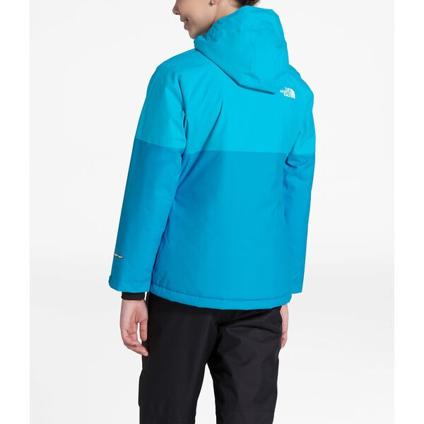 Girls' Brianna Insulated Jacket, TURQUOISE BLUE, hi-res