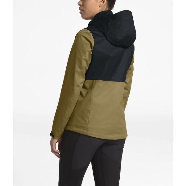 WOMEN'S ARROWOOD TRICLIMATE® JACKET, BRITISH KHAKI/TNF BLACK, hi-res