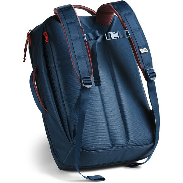 Travel Duffel Pack, BLUE WING TEAL/BAROLO RED, hi-res