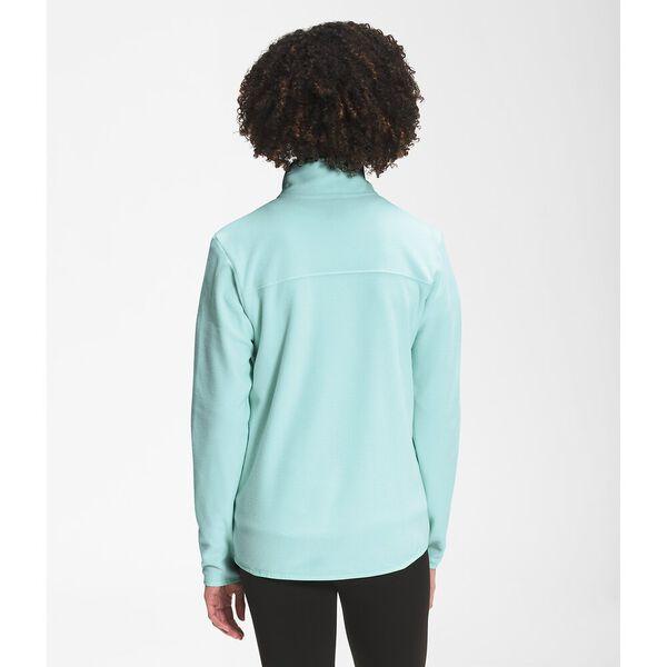 Women's TKA Glacier Fleece Full Zip Jacket, MAUI BLUE, hi-res