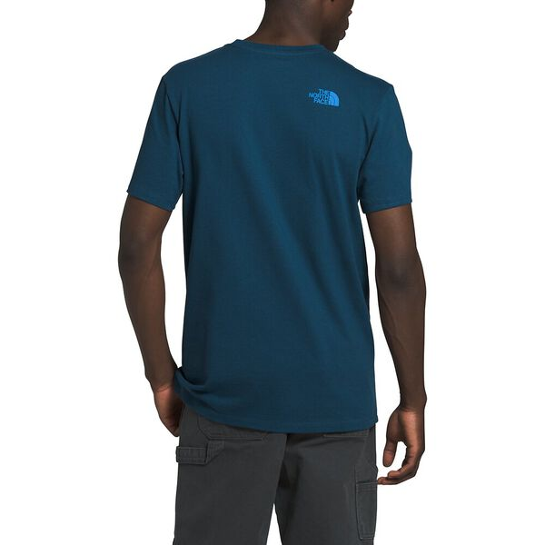 Men's Short-Sleeve Outdoor Free Tee, BLUE WING TEAL, hi-res