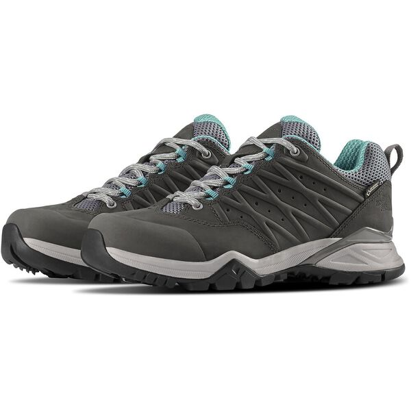 WOMEN'S HEDGEHOG HIKE II GORE-TEX® SHOES, Q-SILVERGREY/PORCELAINGRN, hi-res