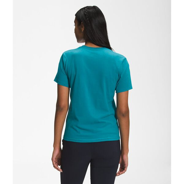Women's Short-Sleeve Half Dome Cotton Tee, ENAMEL BLUE, hi-res