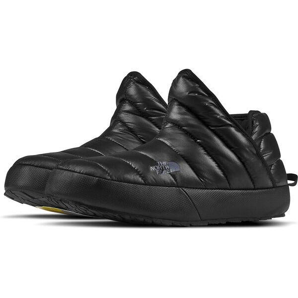 Men's Thermoball™ Traction Bootie, SHINY TNF BLACK/DARK SHADOW GREY, hi-res