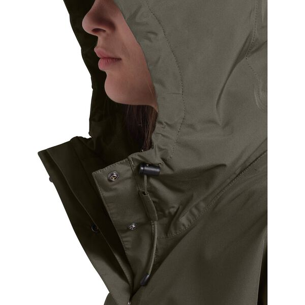 Women's Woodmont Rain Jacket, NEW TAUPE GREEN, hi-res