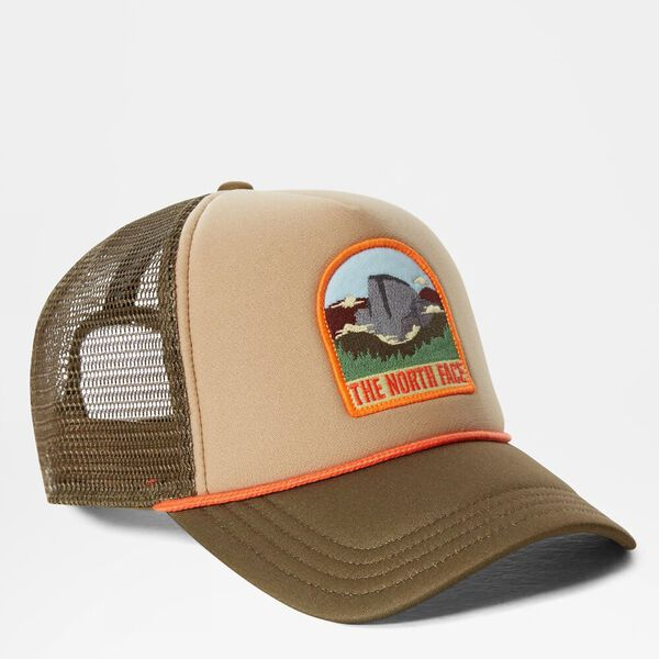 Valley Trucker, TWILL BEIGE/MILITARY OLIVE/FLAME, hi-res