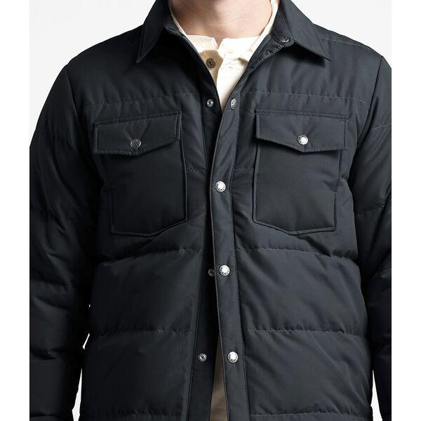 Men's Down Sierra Snap Jacket, TNF BLACK, hi-res