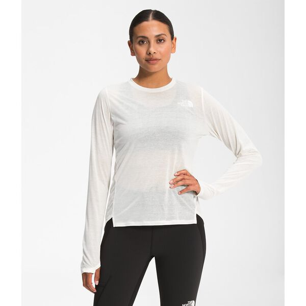 Women's Up With The Sun Long-Sleeve Shirt, GARDENIA WHITE, hi-res