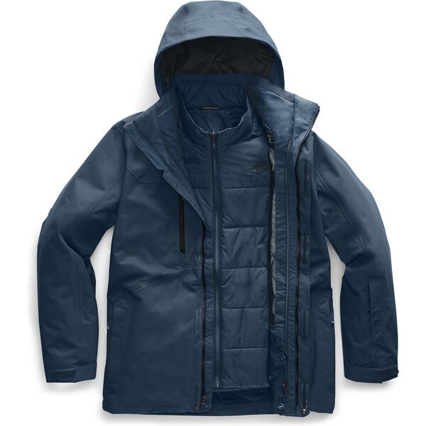 MEN'S CLEMENT TRICLIMATE JACKET, BLUE WING TEAL, hi-res