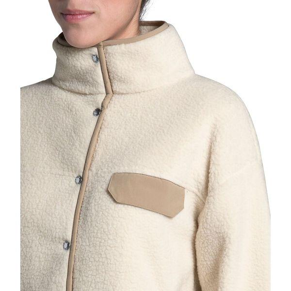 Women's Cragmont Fleece Jacket, BLEACHED SAND/HAWTHORNE KHAKI, hi-res