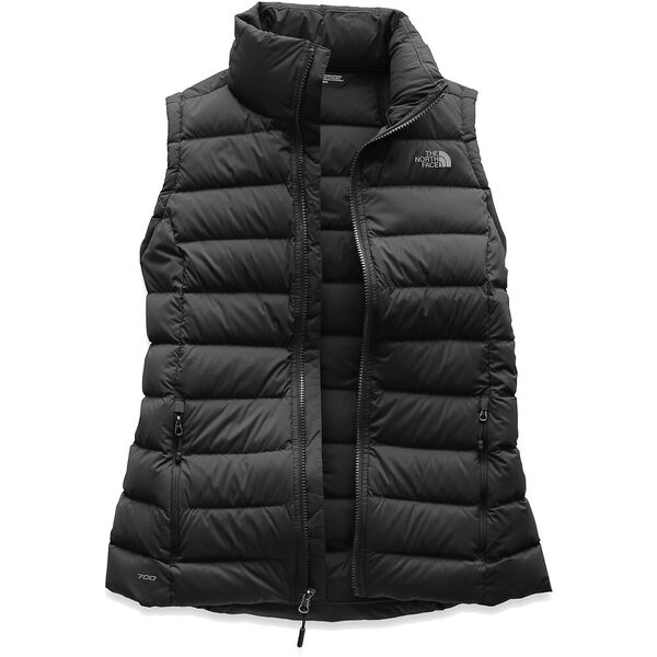 Women's Stretch Down Vest, TNF BLACK, hi-res