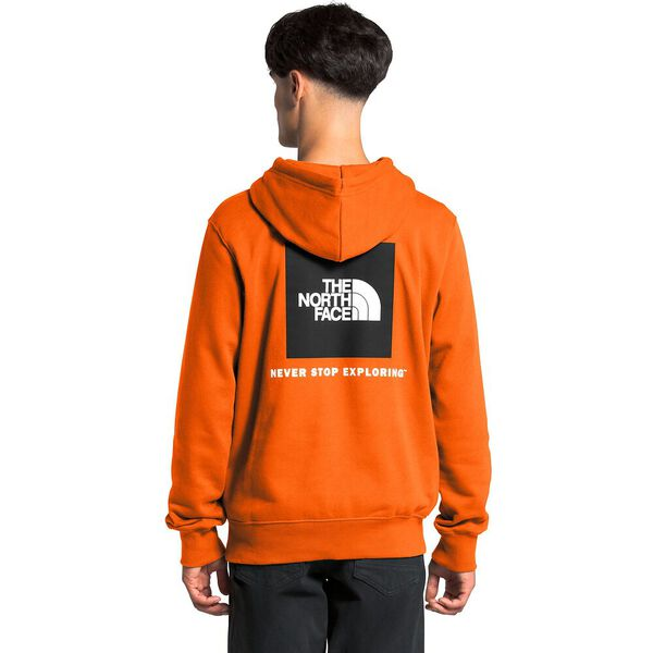 Men's Box NSE Pullover Hoodie, HERITAGE ORANGE, hi-res