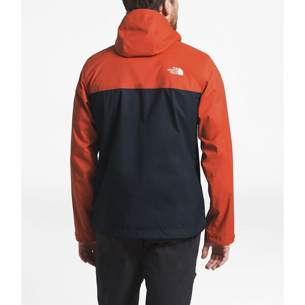 MEN'S MILLERTON JACKET, ZION ORANGE-URBAN NAVY, hi-res