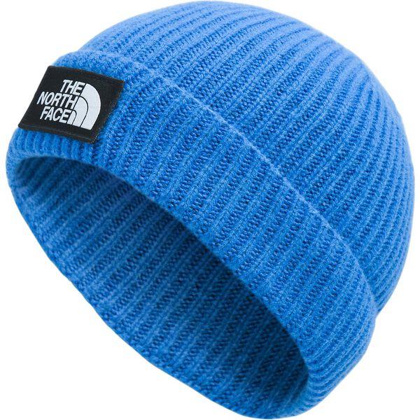 TNF™ Logo Box Cuffed Beanie, CLEAR LAKE BLUE, hi-res