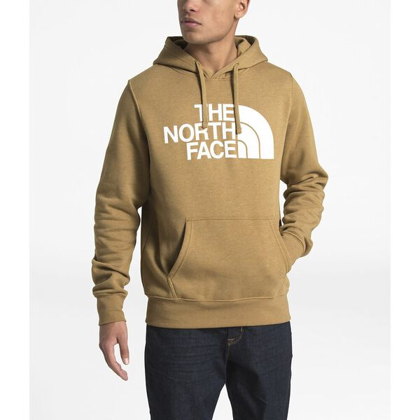 MEN'S HALF DOME PULLOVER HOODIE, BRITISH KHAKI HEATHER, hi-res