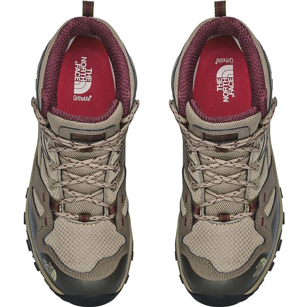 WOMEN'S HEDGEHOG FASTPACK MID GTX, DUNE BEIGE/DEEP GARNET RED, hi-res
