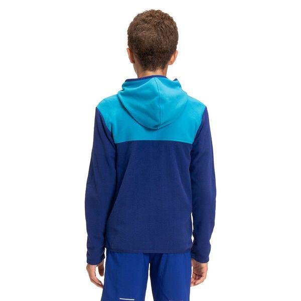 Boys' TKA Glacier Fleece Full Zip Hoodie, BOLT BLUE, hi-res