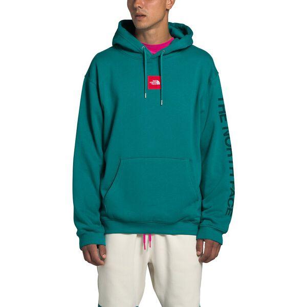 Men's Box Drop Pullover Hoodie, FANFARE GREEN, hi-res