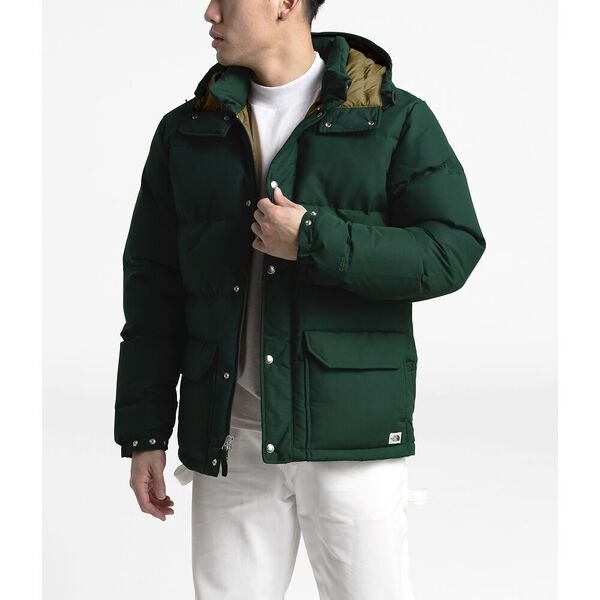 Men's Down Sierra 3.0 Jacket, NIGHT GREEN/BRITISH KHAKI, hi-res