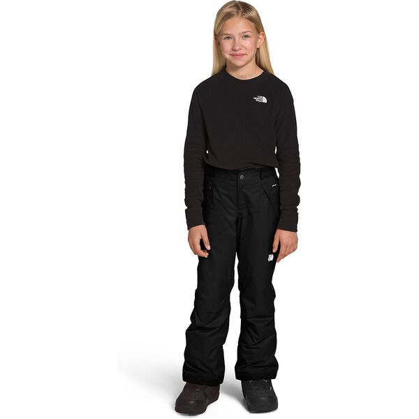 Girls' Freedom Insulated Pants, TNF BLACK/TNF WHITE, hi-res