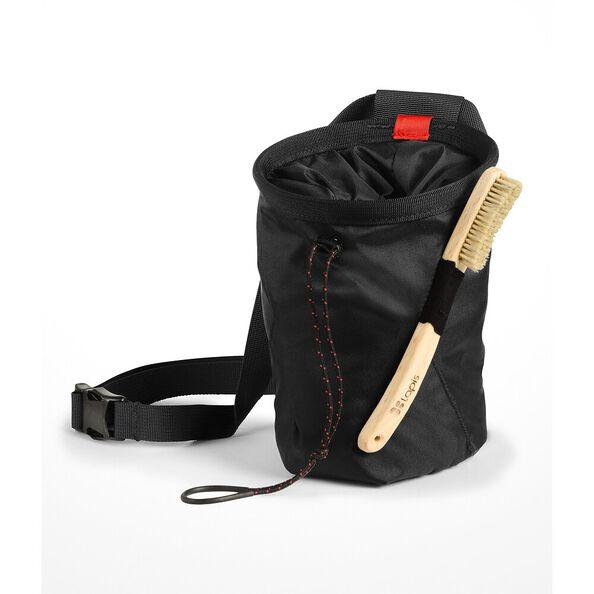 CHALK BAG PRO, TNF BLACK/FIERY RED, hi-res