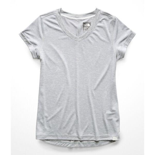 Women's Hyperlayer Flashdry™ Short-Sleeve V-Neck, TNF LIGHT GREY HEATHER, hi-res